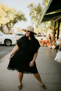 Fairhope Black Dress