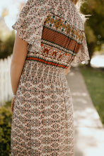 Load image into Gallery viewer, Indio Boho Patterned Dress