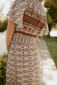 Indio Boho Patterned Dress