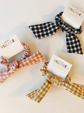 Load image into Gallery viewer, Seattle Scrunchie Collection: Gingham Bow in Pink