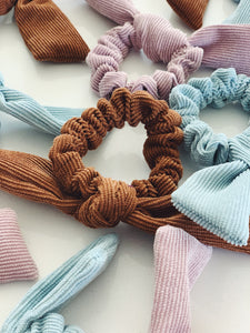 Seattle Scrunchie Collection: Corduroy Scrunchie 3 Pack
