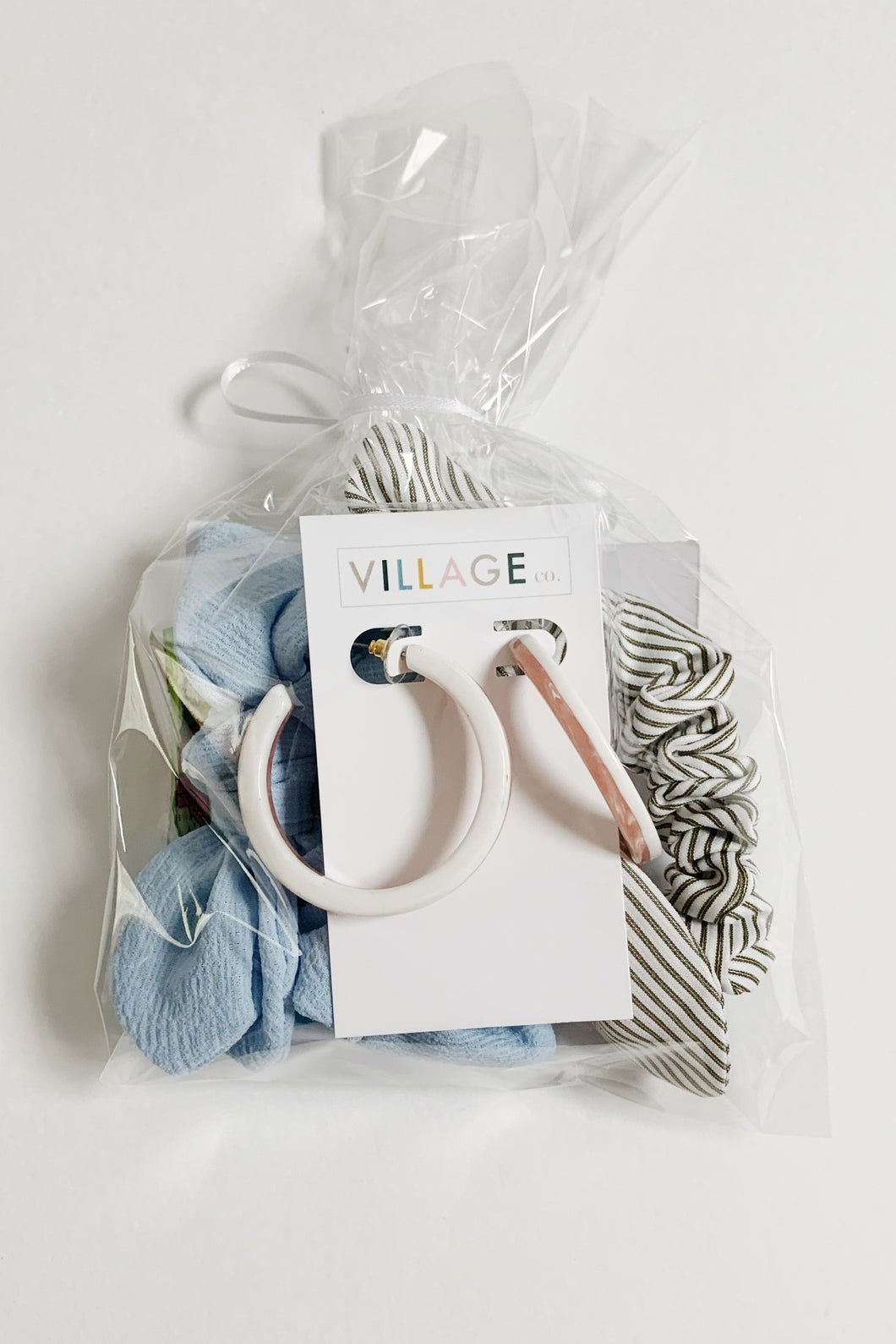 Pick Me Up Bundle: Scrunchies + Earrings