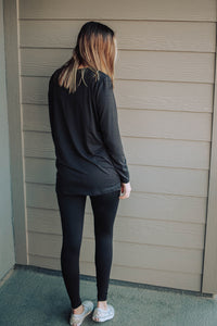 Ellijay Legging Lounge Set in Black