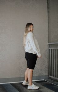 Arroyo Cream Long Sleeve Casual Top