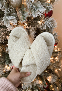 North Pole Sherpa Slippers