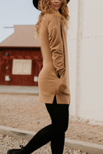 Load image into Gallery viewer, Meridian Camel Pullover Tunic