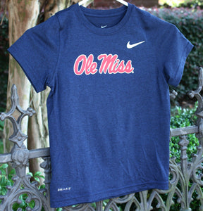 Ole Miss Dri-Fit Nike T-Shirt - Youth