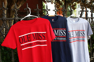 The University of Mississippi T-Shirts