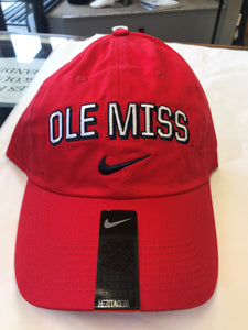 Red Ole Miss Nike swish hat