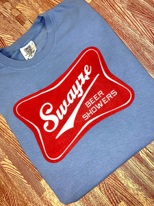 Swayze Beer Showers Comfort Colors Shirt