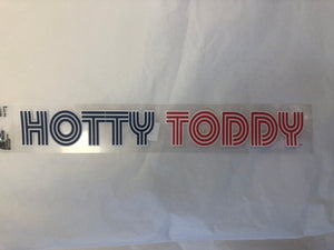 Retro Hotty Toddy Sticker