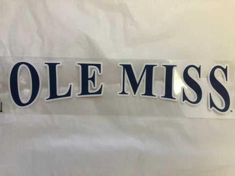 Navy Ole Miss Sticker