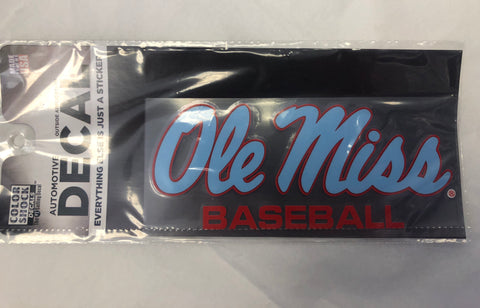 Powder Blue Ole Miss Baseball