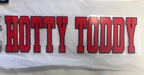 Classic Block Hotty Toddy Sticker