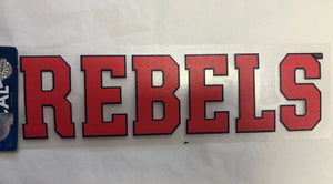 Classic Block Rebels Sticker