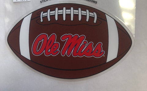 Ole Miss Football Decal