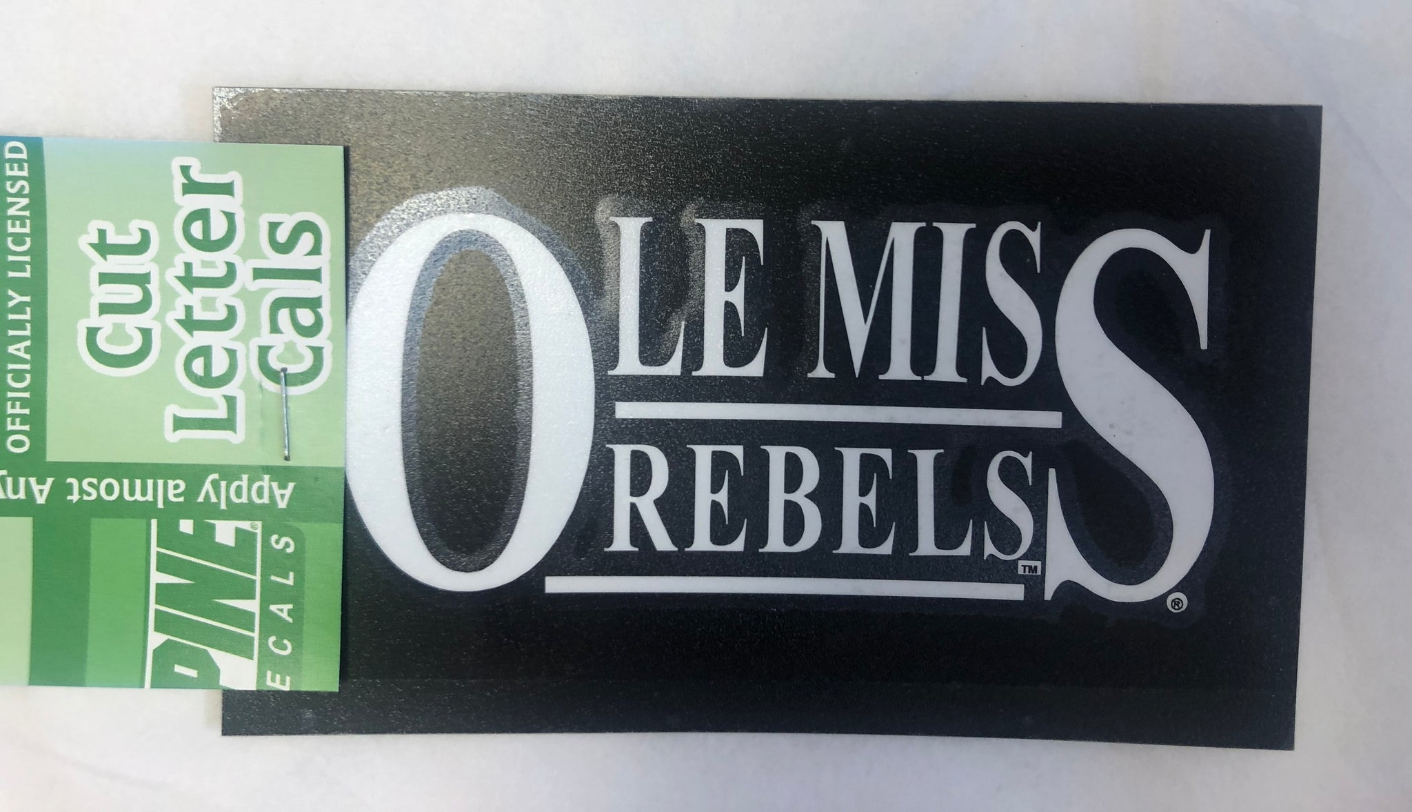 Ole Miss Stacked Decal
