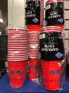 Ole Miss Red Solo Cup