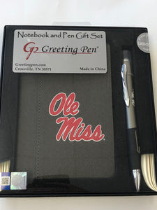 Ole Miss Note Pad and Pen