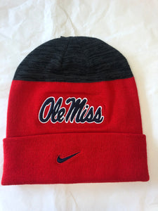 Nike Red Ole Miss Toboggan