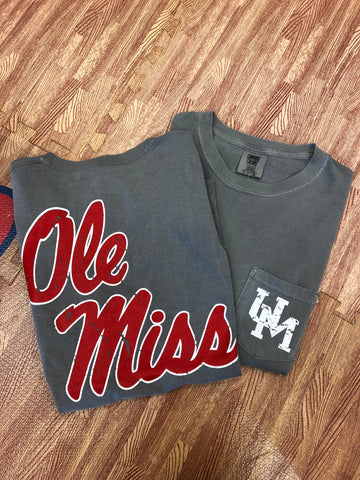 University of Mississippi Comfort Colors
