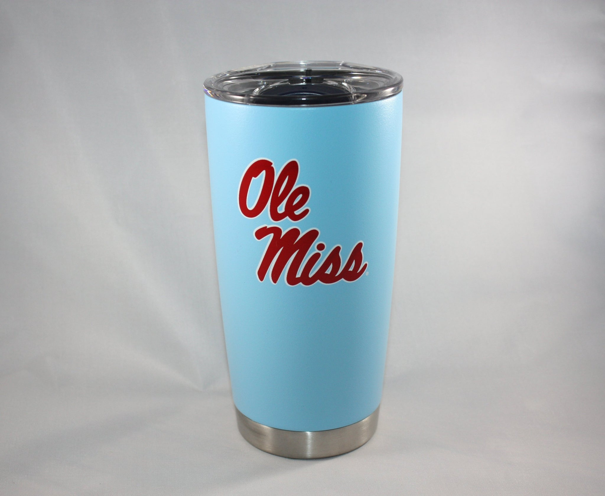 Powder Blue Stainless Steel Tumbler