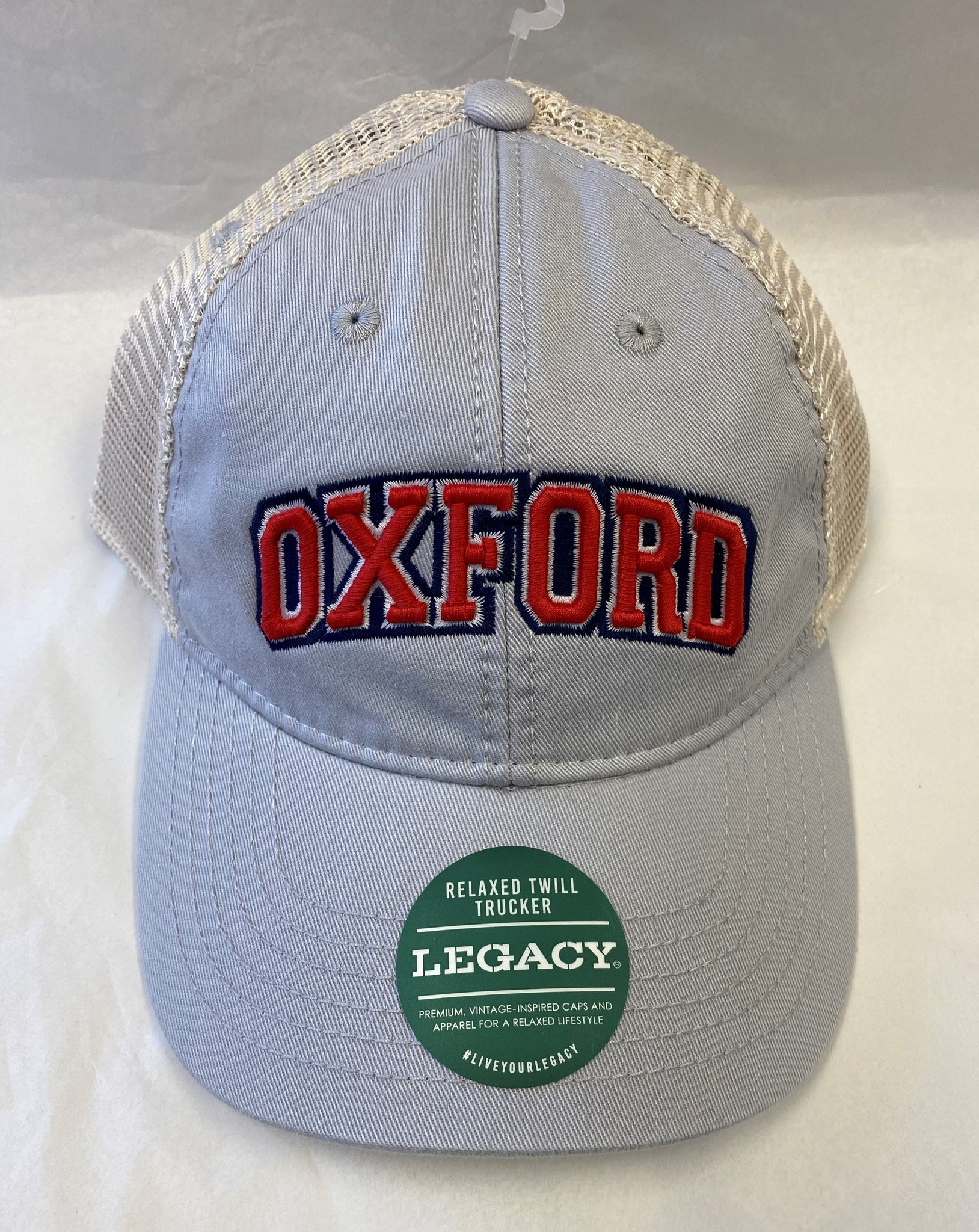 "Twill Trucker ""Oxford"" Hat"