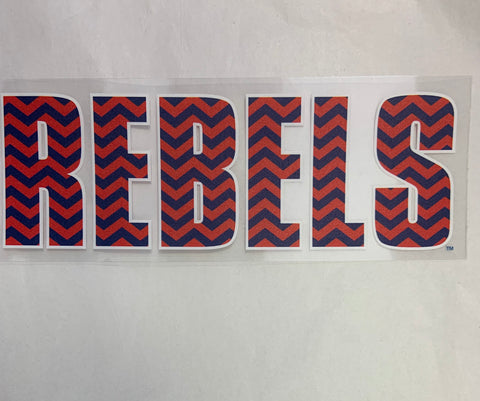 Chevron Rebels Sticker