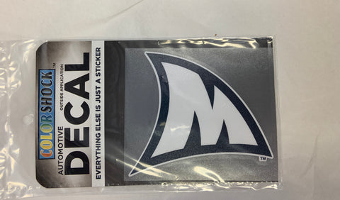 """M"" Fin Decal"