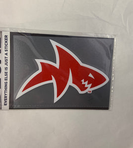 Red Landshark Decal