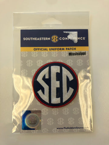 SEC Official Jersey Patch