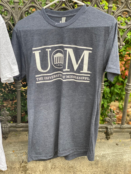 UM Lyceum Heather Grey Tee