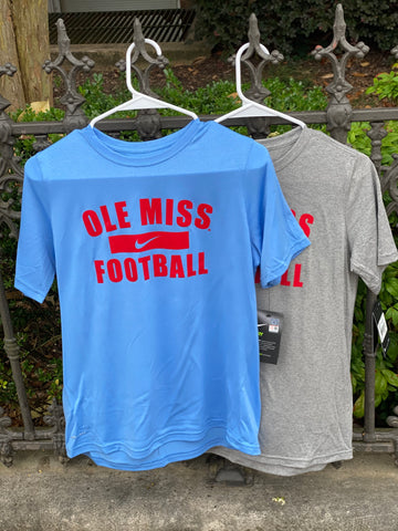 OLE MISS FOOTBALL YOUTH T-SHIRT