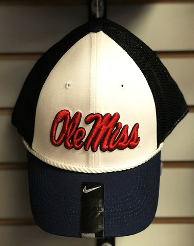 Ole Miss Roped Hat