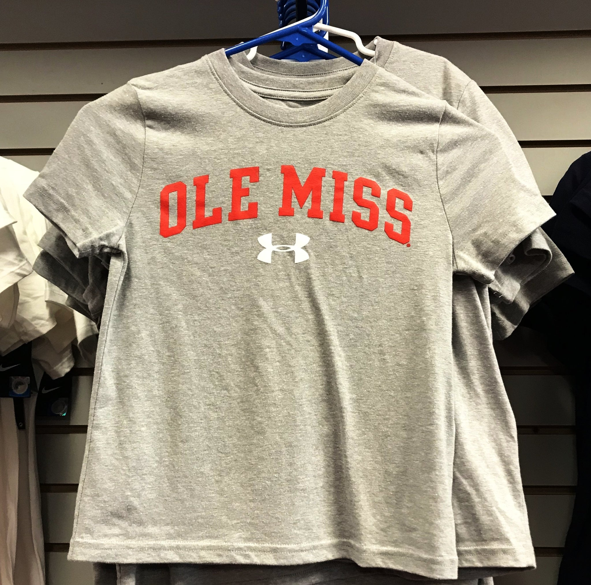 Ole Miss Under Armour Youth Shirt
