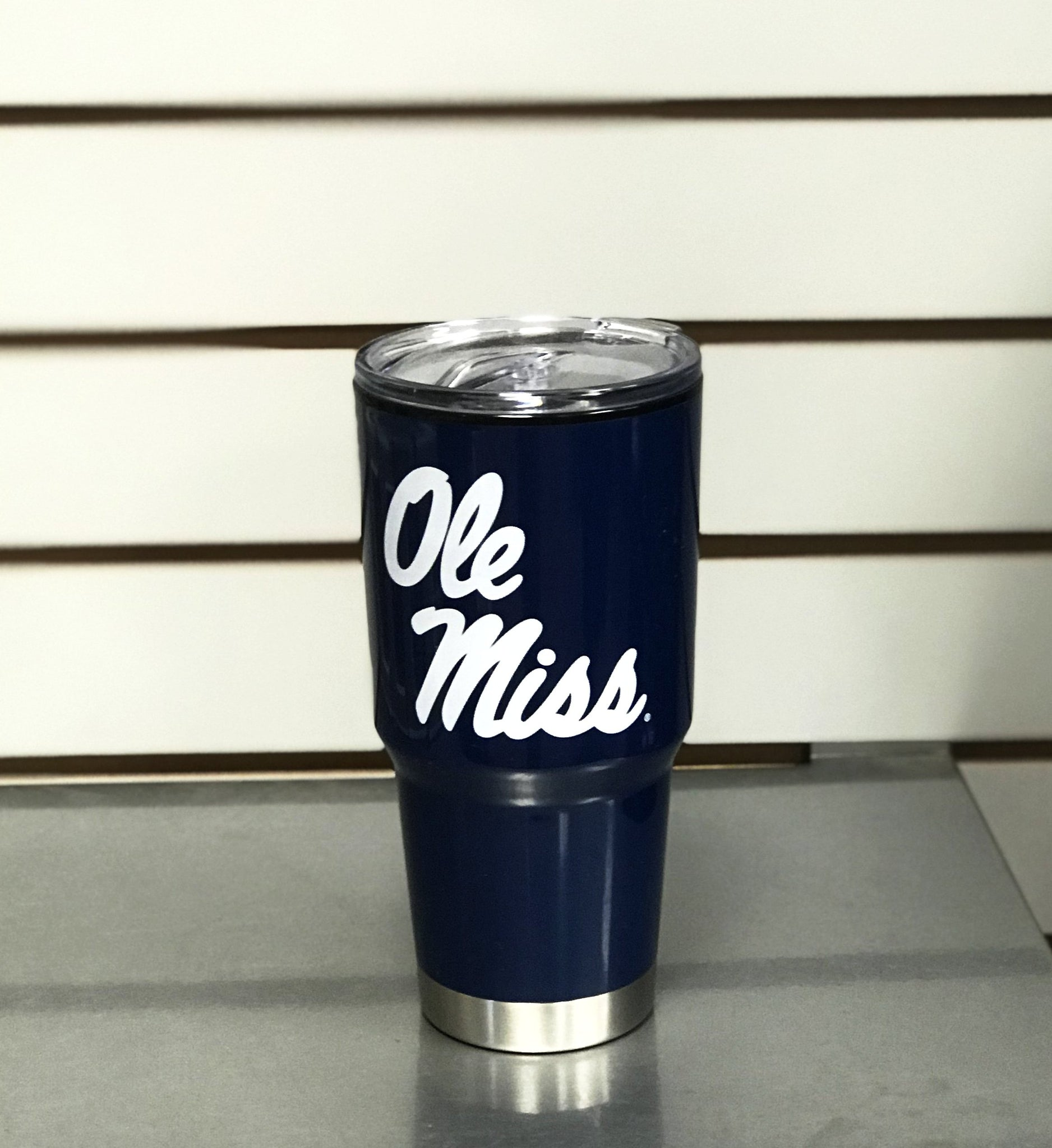 Blue Ole Miss Tumbler