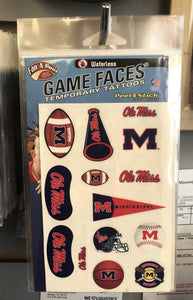 Game Face Tattoo Set