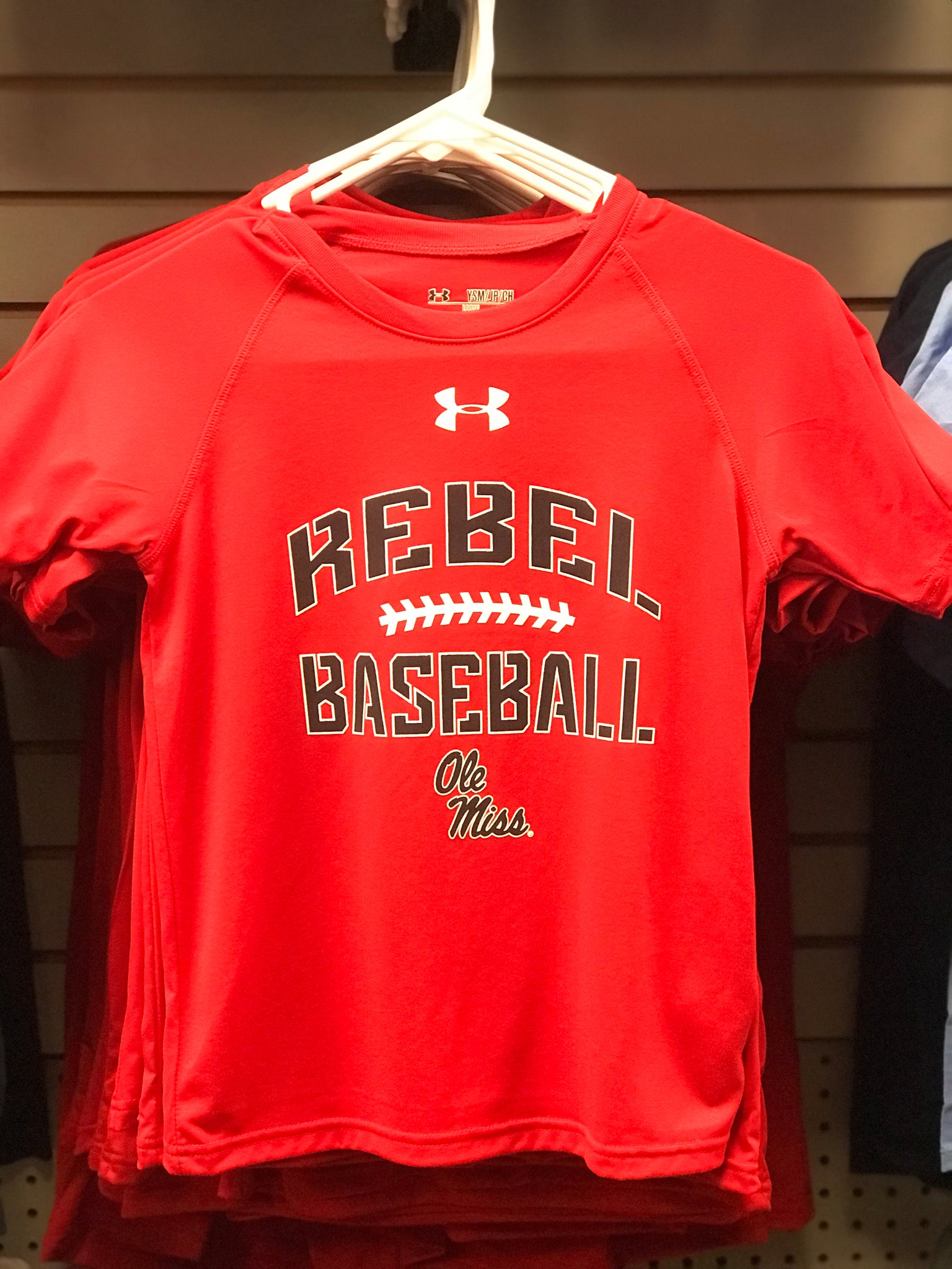 Under Armour Rebel Baseball Tee