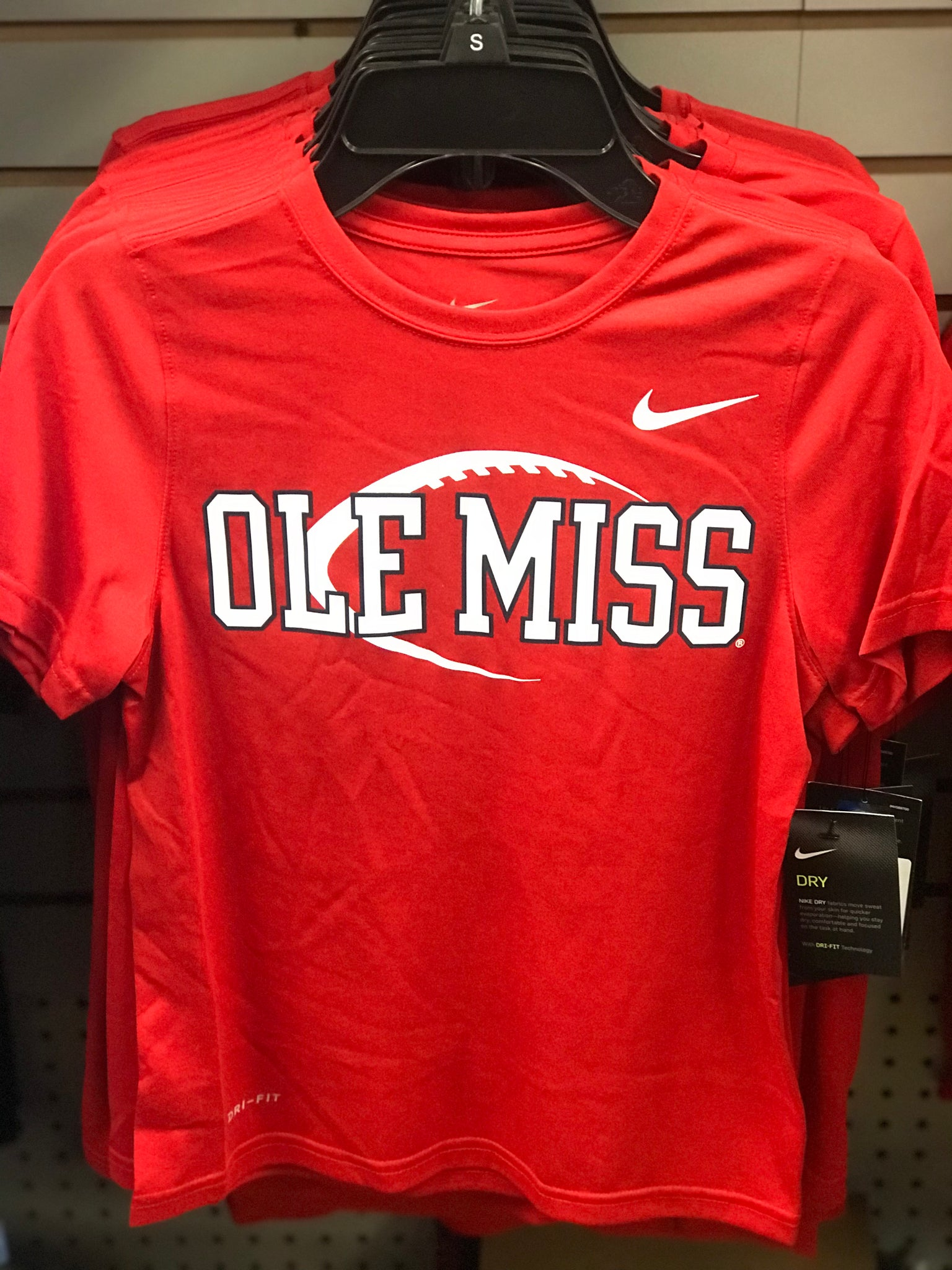 Ole Miss Football Nike Shirt