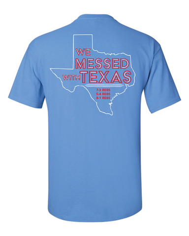 "Youth ""We messed with Texas"" Tee"