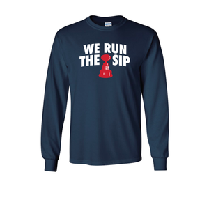 We Run The Sip Long Sleeve Tee