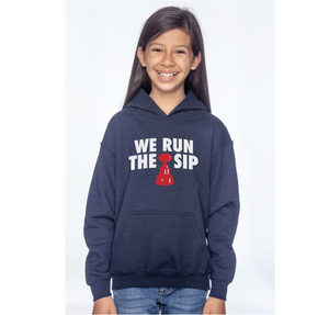 We Run The Sip Youth Hoodie