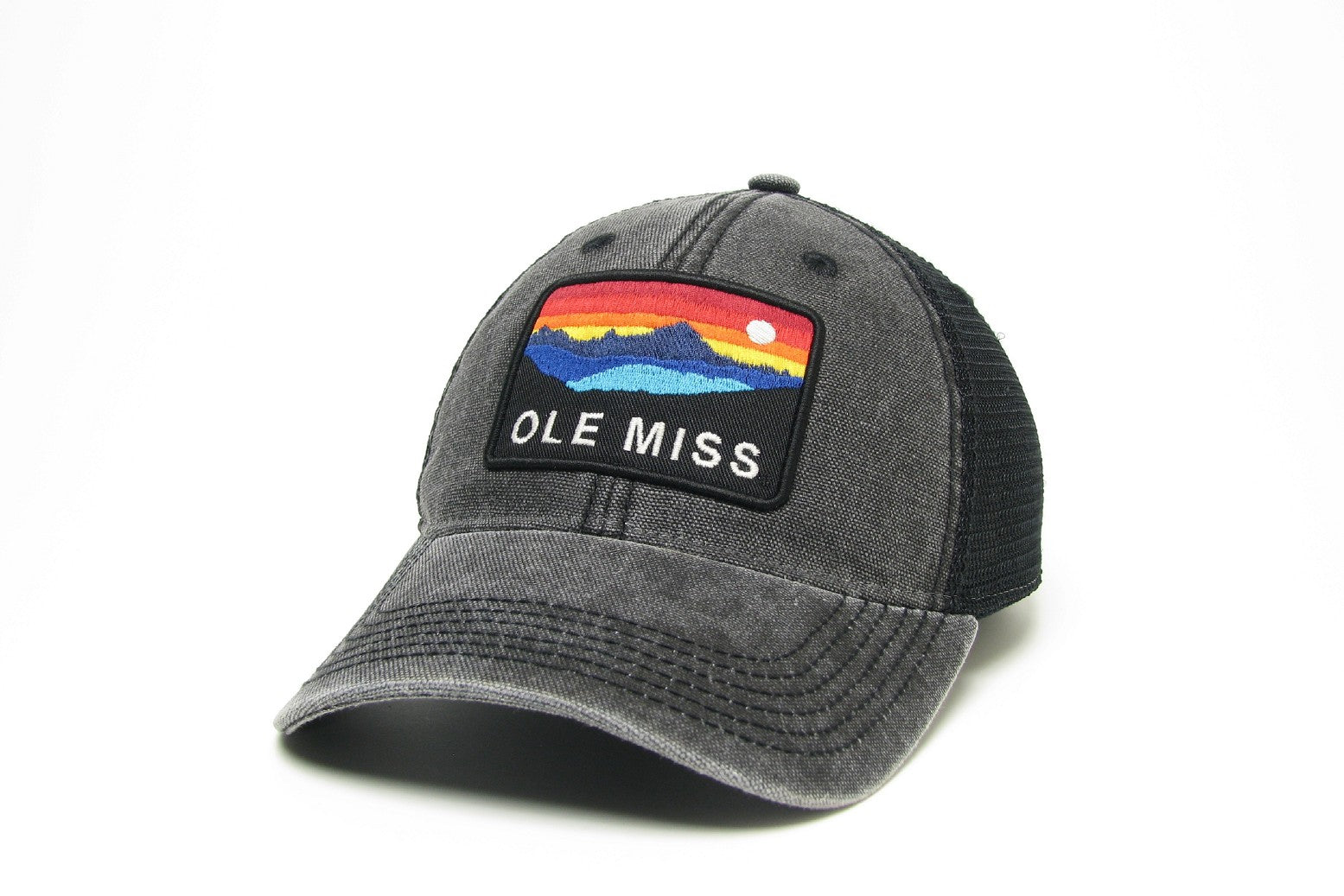 Legacy Black Ole Miss Mesh Hat
