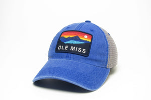 Blue Ole Miss Mesh Patagonia Hat