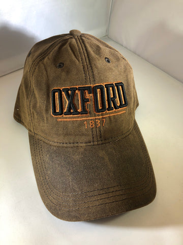 Brown Oxford hat