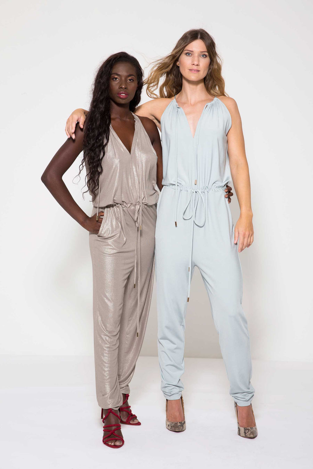 Lax Jumpsuit Wine Red