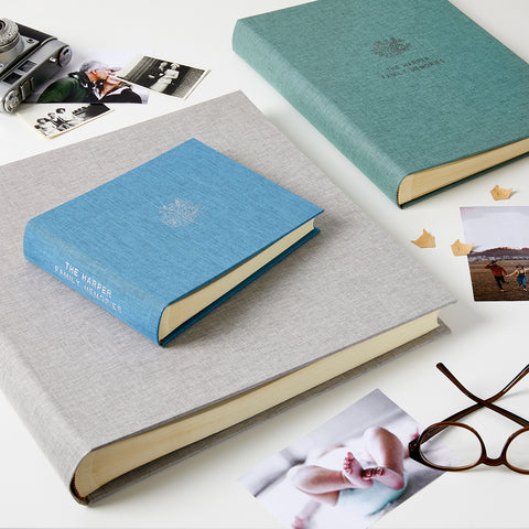Personalised Family Tree Photo Album & Box
