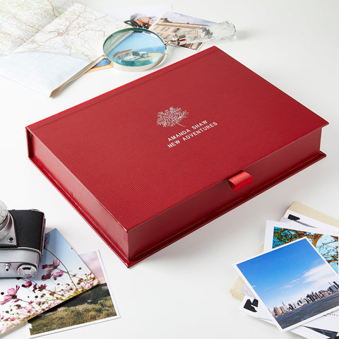 Personalised Retirement Memory Keepsake Box