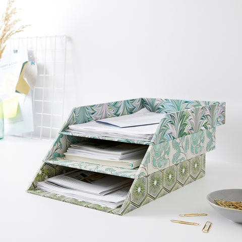 stackable filing trays