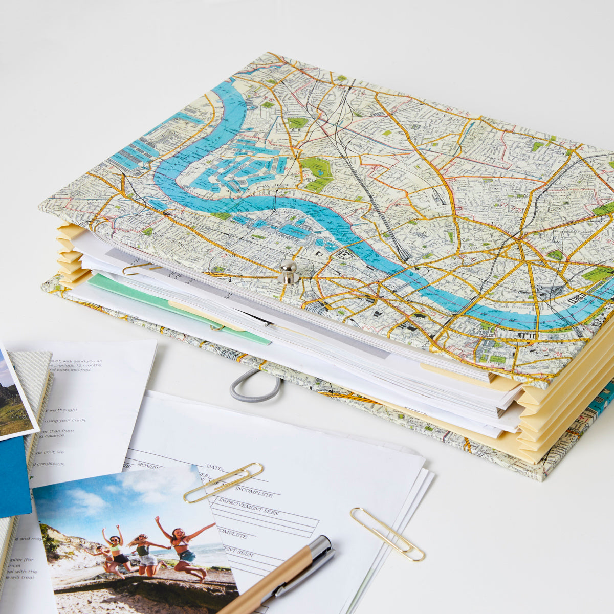 London Map Travel Planner Organiser